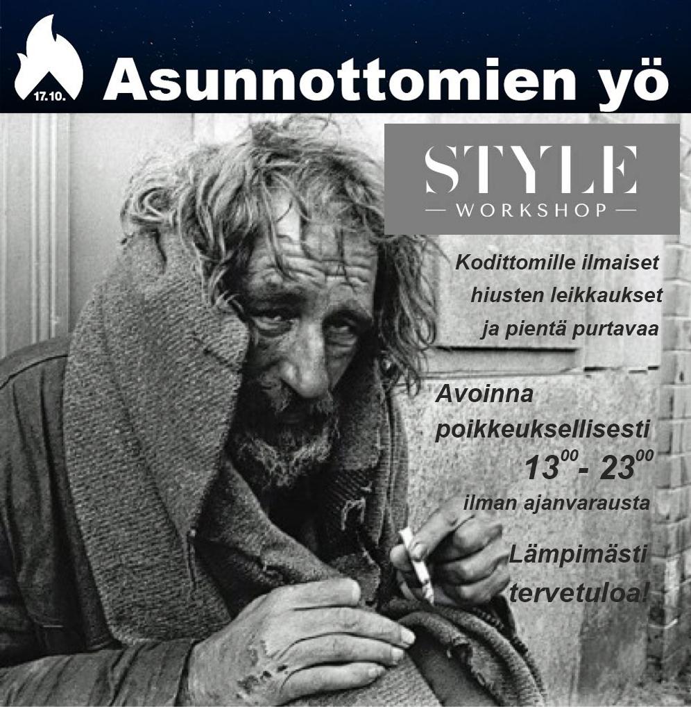 17 10 – ASUNNOTTOMIEN YÖ - Style Workshop